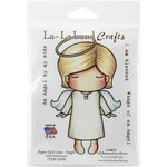 La-La Land - Cling Mounted Rubber Stamp Set - Paper Doll Luka - Angel