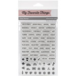 My Favorite Things - Laina Lamb Designs - Clear Acrylic Stamps - Family Life Planner