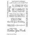 My Favorite Things - Laina Lamb Designs - Clear Acrylic Stamps - Tickled Pink