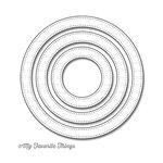 My Favorite Things - Die-Namics - Dies - Pierced Circle Frames
