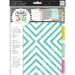 Me and My Big Ideas - Create 365 Collection - Month Extension Pages - Teal and Gold