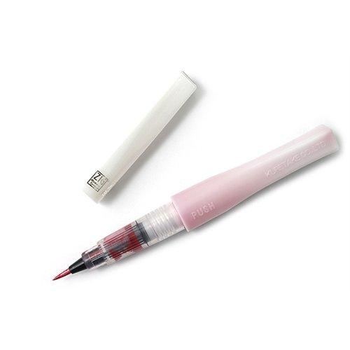 ZIG - Memory System - Wink Of Stella - Glitter Brush Marker - Glitter Dark Pink