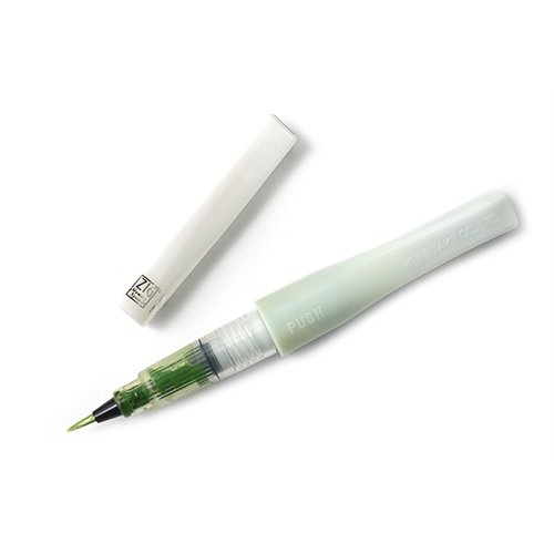 ZIG - Memory System - Wink Of Stella - Glitter Brush Marker - Glitter Light Green