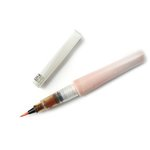 ZIG - Memory System - Wink Of Stella - Glitter Brush Marker - Glitter Orange