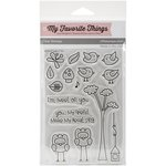 My Favorite Things - Clear Acrylic Stamps - Tweet On You