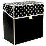 Hullabaloo - Oversized Stationery Box - Black