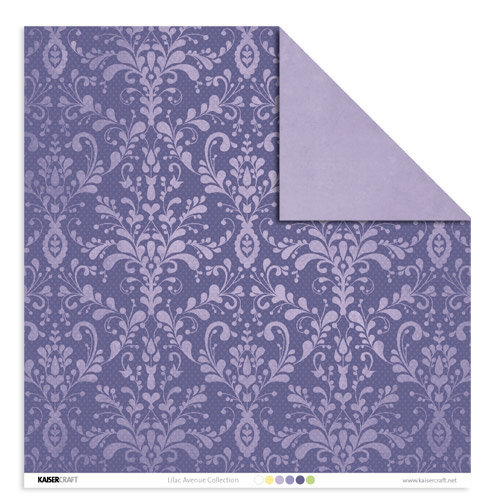 Kaisercraft - Lilac Avenue Collection - 12 x 12 Double Sided Paper - Sweet Pea, CLEARANCE