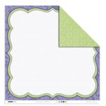 Kaisercraft - Lilac Avenue Collection - 12 x 12 Double Sided Paper - Snap Dragon, CLEARANCE