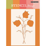 Penny Black - Stencils - Floral Spray