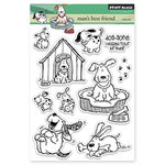 Penny Black - Clear Acrylic Stamps - Man's Best Friend