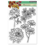 Penny Black - Clear Acrylic Stamps - Efflorescence