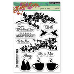 Penny Black - Clear Acrylic Stamps - You and Me