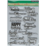 Penny Black - Clear Acrylic Stamps - Sprinkles and Smiles