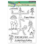Penny Black - Clear Acrylic Stamps - Love and Yoga