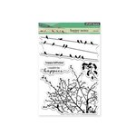 Penny Black - Clear Acrylic Stamps - Happy Notes