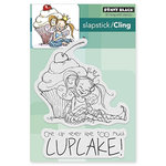 Penny Black - Cling Mounted Rubber Stamps - Cupcake
