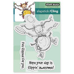 Penny Black - Cling Mounted Rubber Stamps - Flipping Out