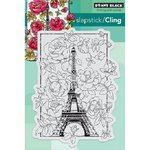 Penny Black - Cling Mounted Rubber Stamps - April In Paris
