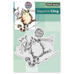 Penny Black - Cling Mounted Rubber Stamps - High Wire Celebration