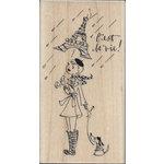 Penny Black - Wood Stamps - C'est La Vie