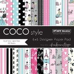 Penny Black - 6 x 6 Paper Pad - Coco Style