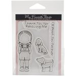 My Favorite Things - Pure Innocence - Clear Acrylic Stamps - Woof You