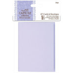 DoCrafts - Papermania - Capsule Collection - French Lavender - A7 Cards and Envelopes