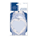 DoCrafts - Papermania - Parisienne Blue Collection - Die Cut Notelets