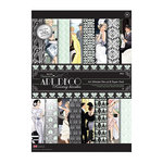 DoCrafts - Papermania - Art Deco Collection - Ultimate A4 Die Cut and Paper Pack