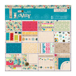 DoCrafts - Papermania - Sew Lovely Collection - 12 x 12 Paper Pack