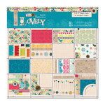 DoCrafts - Papermania - Sew Lovely Collection - 6 x 6 Paper Pack
