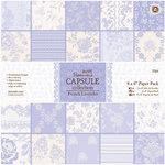 DoCrafts - Papermania - Capsule Collection - French Lavender - 8 x 8 Paper Pack