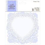 DoCrafts - Papermania - Capsule Collection - French Lavender - Die Cut Lace Paper Doily Pack