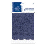 DoCrafts - Papermania - Parisienne Blue Collection - Jumbo Crochet Trim