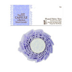 DoCrafts - Papermania - Capsule Collection - French Lavender - Pleated Fabric Trim