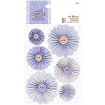 DoCrafts - Papermania - Capsule Collection - French Lavender - Pin Wheels