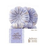 DoCrafts - Papermania - Capsule Collection - French Lavender - Big Bloomers - Paper Flowers