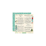 October Afternoon - Make it Merry Collection - Christmas - 12 x 12 Double Sided Paper - Make a Song