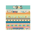October Afternoon - 9 to 5 Collection - 8 x 8 Paper Pack