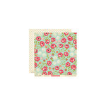 October Afternoon - Woodland Collection - 12 x 12 Double Sided Paper - Rose Garden