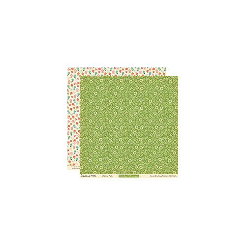 October Afternoon - Woodland Collection - 12 x 12 Double Sided Paper - Willow Path