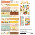 October Afternoon - Saturday Mornings Collection - 12 x 12 Collection Kit
