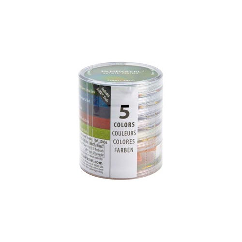 PanPastel - Colorfin - Ultra Soft Artists' Painting Pastels - Starter Set - Extra Dark Shades