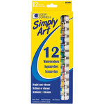 Loew-Cornell - Simply Art - Watercolor Paints - 12 Pack