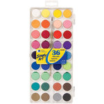 Loew-Cornell - Simply Art - Watercolor Paint Cakes - 36 Pack