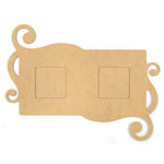 Kaisercraft - Beyond the Page Collection - Large Flourish Frame
