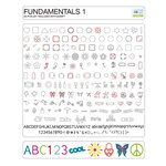 Craftwell - eCraft - 12 Inch Electronic Cutting System - Image Card - Fundamentals 1