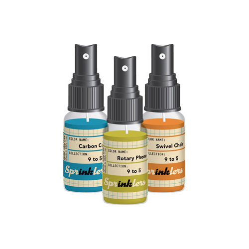October Afternoon - 9 to 5 Collection - Spray Inks - Sprinklers Set
