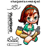 Some Odd Girl - Clear Acrylic Stamps - Artist Mae
