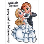 Some Odd Girl - Clear Acrylic Stamps - First Dance Mae